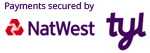 Payments secured by NatWest Tyl